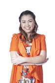азиатская деловая женщина — Стоковое фото