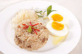 Fried rice ,Thai cuisine — Стоковое фото