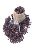 Coffee Beans in a Bag — Stockfoto
