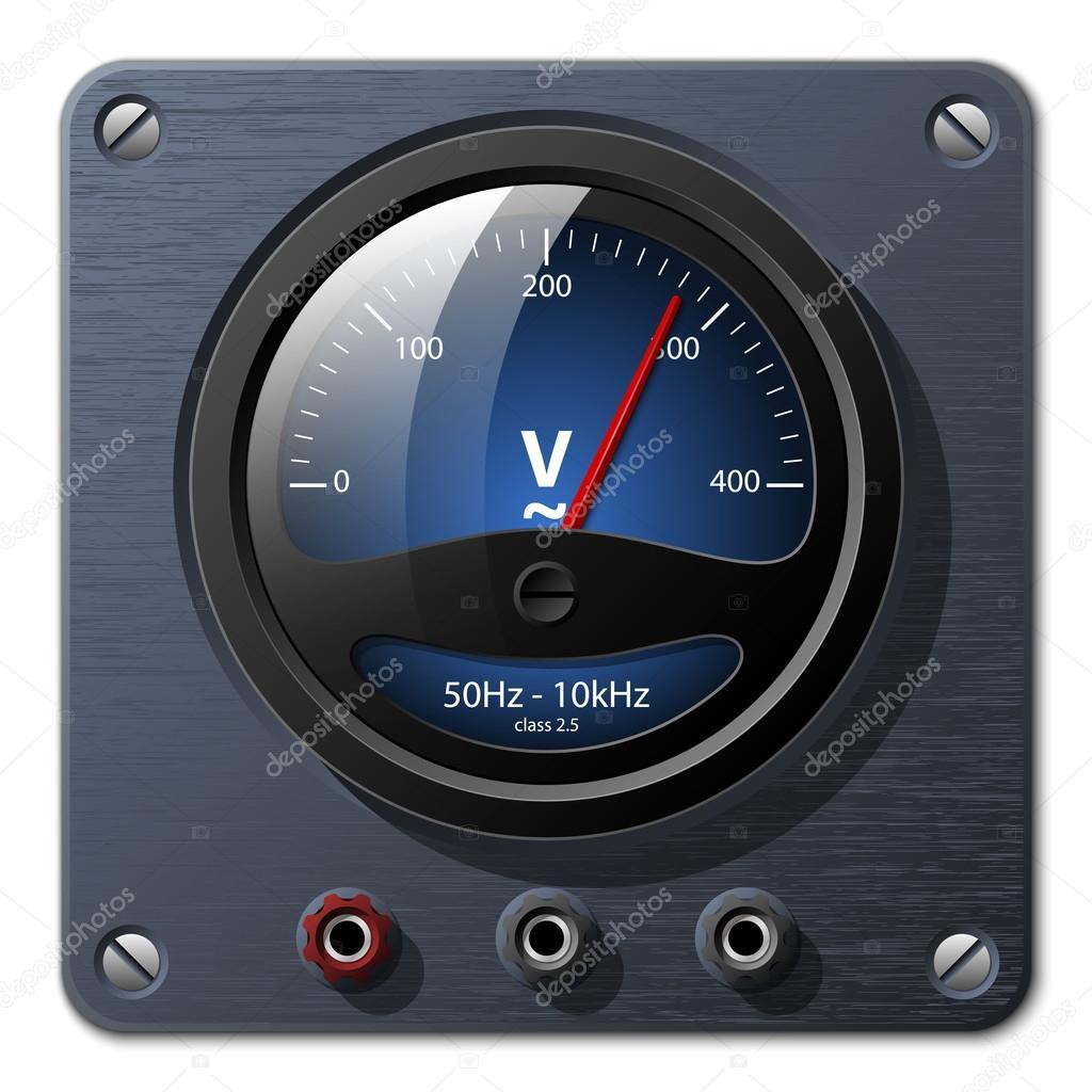 矢量电压表 — 图库矢量图像08