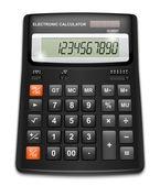 Calculadora de vetor isolada no fundo branco — Vetorial Stock