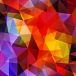 Abstract Polygonal Background. Vector Illustration - Stock Vector