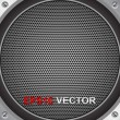 Royalty-Free Stock Vector Image: Speaker grill, vector