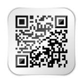 Qr コードのアイコン — ストックベクタ
