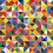 Seamless geometric colorful pattern. — Image vectorielle
