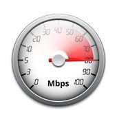 Vector internet speed icon — Stock Vector