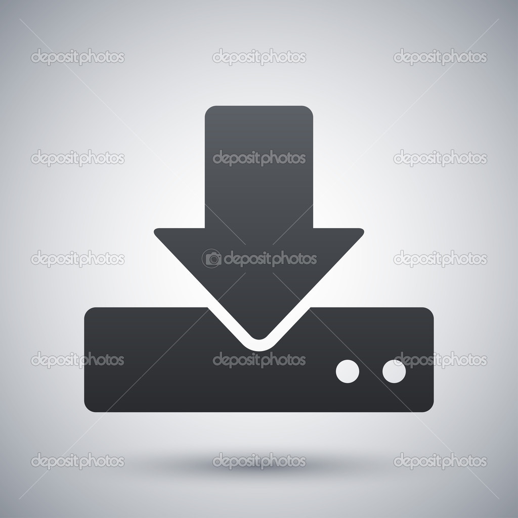 значок жесткого диска: