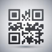 QR Code  icon — Stock Vector