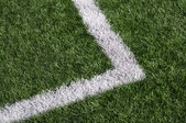 Football grass — Stock Photo