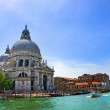Stock Photo: Grand Canal and Basilica Santa Maria della Salute, Venice, Italy