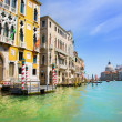 Grand Canal and Basilica Santa Maria della Salute, Venice, Italy — Stock Photo #22460103