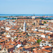 Venice cityscape - view from Campanile di San Marco. Italy - Stock Photo
