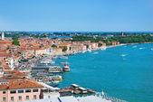 Venice cityscape - view from Campanile di San Marco. Italy — Stock Photo