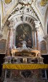 Relics of patriarch Ioann, San Giovanni in Bragora church. Venic — Stock Photo