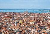 Wenecja gród - widok z hotelu campanile di san marco. włochy — Zdjęcie stockowe
