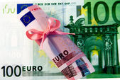 100 plus 10 Euro — Stock Photo