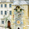 Stock Photo: The astronomical clock tower in Prague, Czech Republic