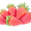 Strawberry isolated on white background — Stockfoto