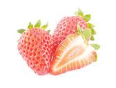 Fresh strawberry isolated on white — Stock Photo