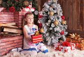 Happy small girl — Stock Photo