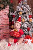 Happy small child — Stock Photo