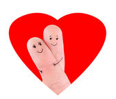 Happy couple hug concept — Stock Photo