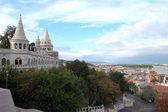 布达城堡区在布达佩斯 — 图库照片