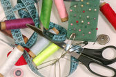 Sewing supplies — Стоковое фото