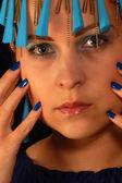 Blue jewelry — Stock Photo