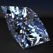 lindo diamante azul — Foto Stock