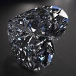 prachtige blauwe diamant — Stockfoto