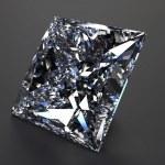 bella diamante blu — Foto Stock