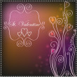 Royalty-Free Stock Vektorgrafik: St. Valentine background