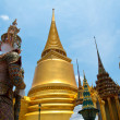 Stock Photo: Golden Pagodof Wat PhrKaew temple