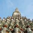 Stock Photo: PhrPrang of Wat Arun temple