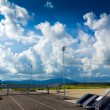 Stock Photo: Landscape of airfield in Krabi