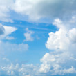 Stock Photo: Blue sky background