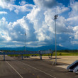Landscape of airfield in Krabi — Stock Photo #12097133