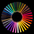 Colouring crayon pencils — Stock Photo #12097204