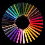 Colouring crayon pencils — Stock Photo #12097204