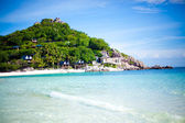 Sea beach Koh Nangyuan — Stock Photo