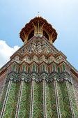 Wat phra kaew, temple du bouddha émeraude, bangkok, thaïlande — Photo
