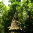 Old Pagoda Ancient city in historic national — Stock Photo