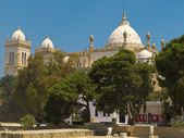 Saint Louis Cathedral, Carthage, Tunisia — Stock Photo