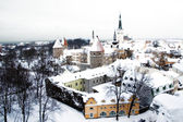View of the historical center of Tallinn — Stock Photo