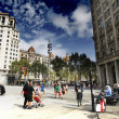 Monuments of Culture in Barcelona — Stock Photo