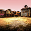Stock Photo: Ghost town