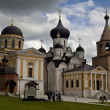 The Orthodox Church in Starica town, Russia — Stock Photo