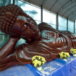Statue of reclining Buddha, Vietnam — Stock Photo