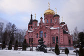 Winter Church. Moscow, Russia. — Stock Photo